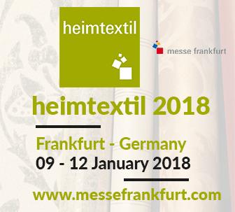Heimtextil 2018 Frankfurt Germany